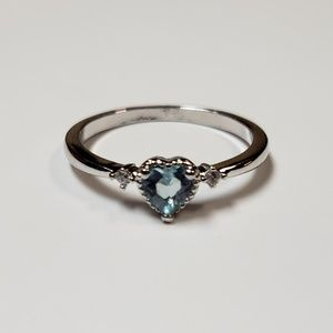 Sterling Silver 925 Size 7 Ring